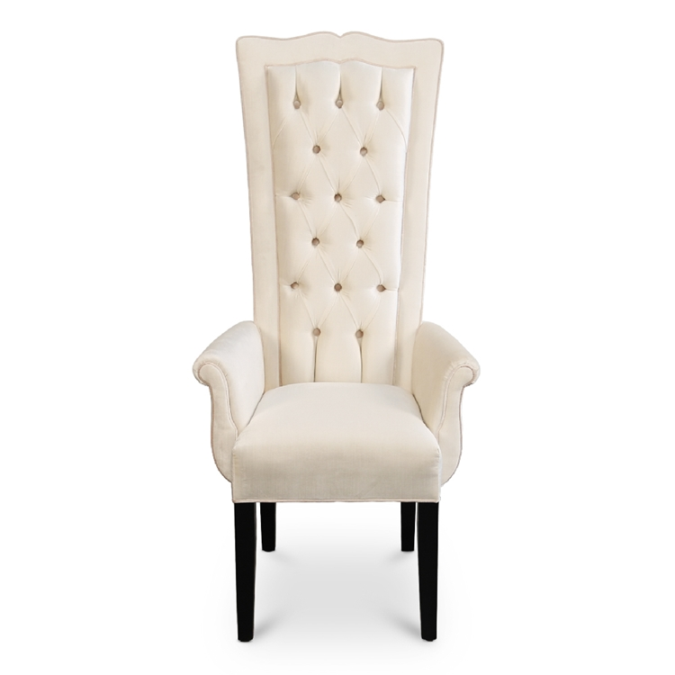 Haute House Home | Dining Room | Dining Chairs | Sweetheart Arm Dining Chair