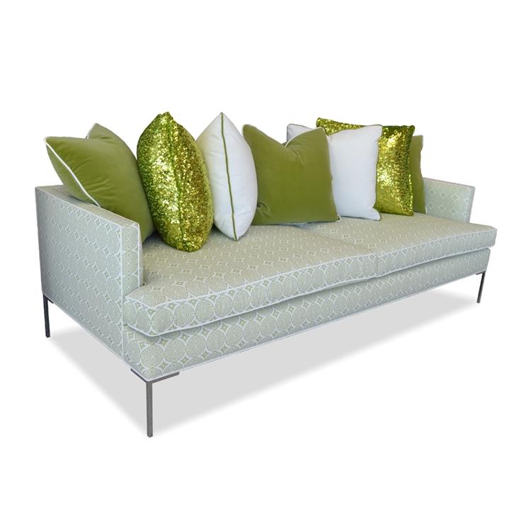 Acme Sofa - Modern Loose Cushion Sofa - www.HauteHouseHome.com