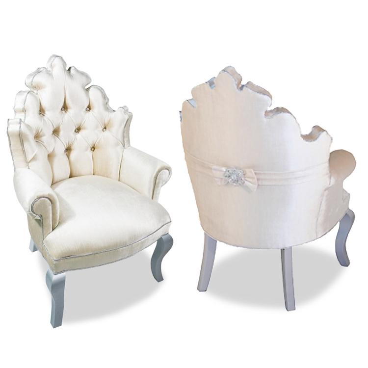 white tufted chair. Isabella Tufted White Velvet Chair D