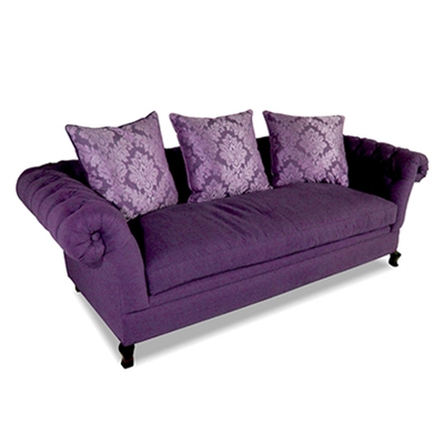Baton Rouge Tufted Velvet Sofa