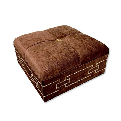 Haute House Home | Ottomans and Benches | Fendi Ottoman