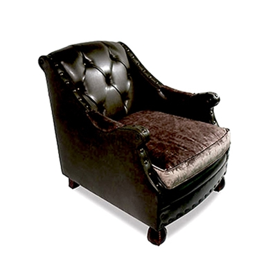 Estephan Leather Arm Chair