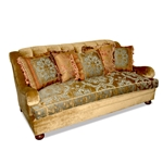St. Petersburg Tufted Green Velvet Sofa