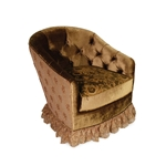Devon Tufted Barrel Chair