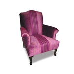 Eleanor Velvet Library Chair