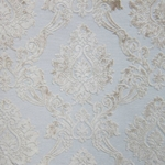 Cream Cut Velvet Damask - Luxary Fabric - hautehousehome.com