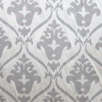 Haute House Home | Fabrics | Pattern | Gray Damask Fabric