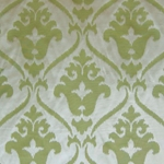 Haute House Home | Fabrics | Pattern | Pistachio Damask Fabric