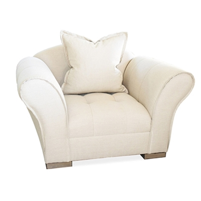 Avid Cream Linen Chair