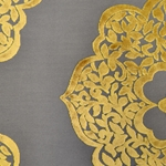"Haute House Home | Fabrics | Velvet | Henna ""Golden"""
