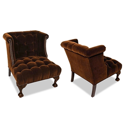 Amsterdam Tufted Velvet Accent Chair