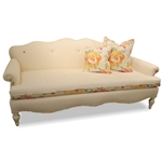 Seaside Linen Cottage Sofa