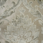 Cheshire Feather - Damask Velvet Fabric