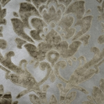Cheshire Beach - Damask Velvet Fabric