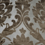 Cheshire Bark - Damask Velvet Fabric