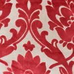 Cheshire Lipstick - Damask Velvet Fabric