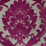 Cheshire Orchid - Damask Velvet Fabric