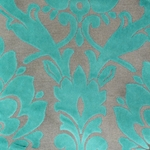 Cheshire Pool - Damask Velvet Fabric