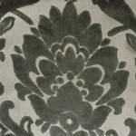 Cheshire Pewter - Damask Velvet Fabric