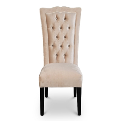 Sweetheart Tufted Velvet Dining Chair