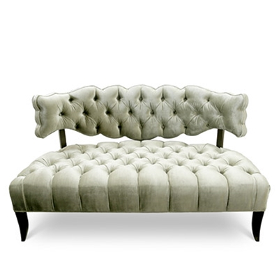 Pantages Sample Settee - HauteHouseHome.com