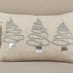 HOLIDAY TREES PILLOW - Holiday Pillow - HauteHouseHome.com