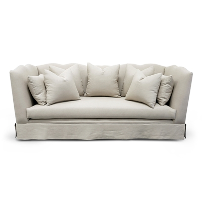 Santiago Natural Linen Sofa