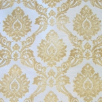 Haute House Home | Fabrics | Pattern | Topaz Cut Velvet Damask