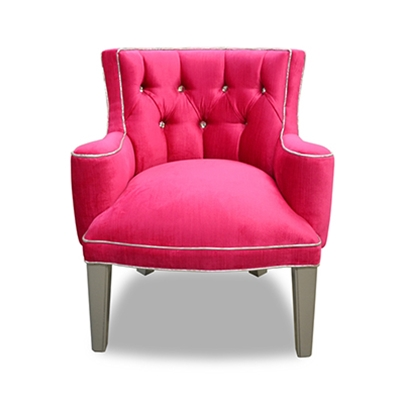 Baby Tiffany Red Velvet Chair