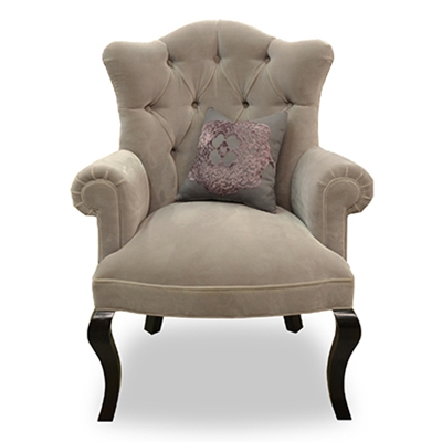 Chloe Velvet Accent Chair