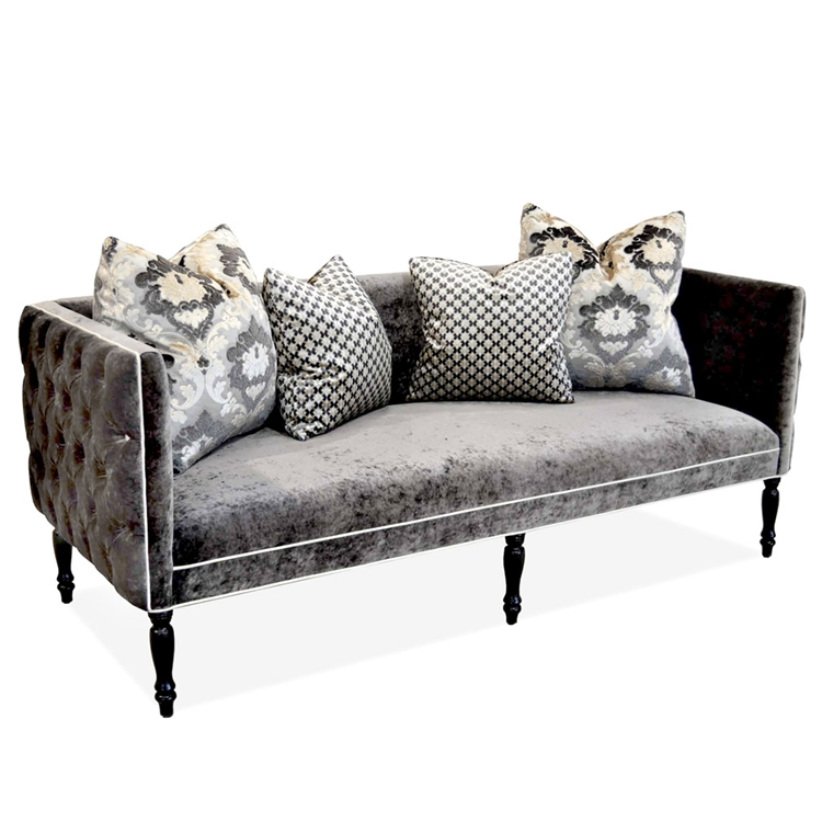 Braxton Tufted Velvet Sofa