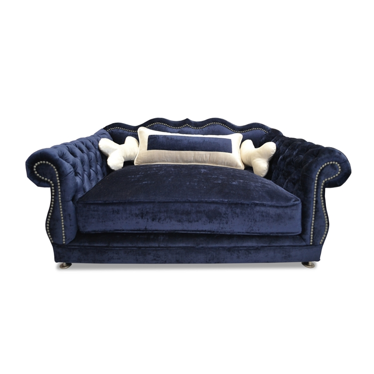 Haute House Home | Haute Dogs | Gigi Navy Dog Bed