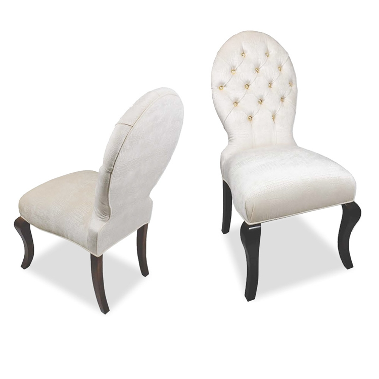 Haute House Home | Dining Room | Dining Chairs | Debutante Dining Chair | Tufting