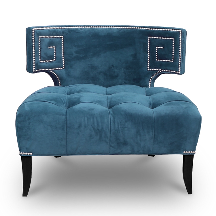 Orion Tufted Velvet Chair