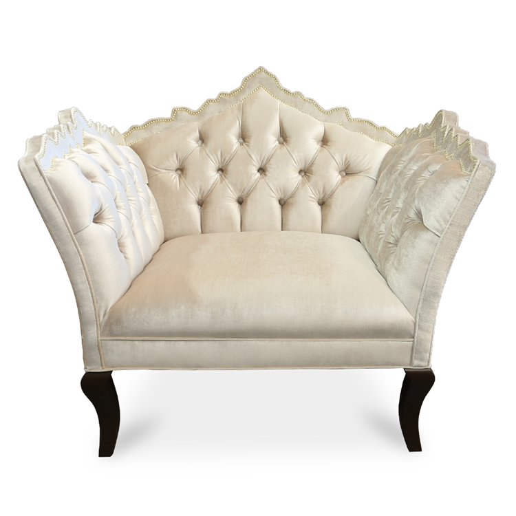 Bellissimo Tufted Cashmere Velvet Chair