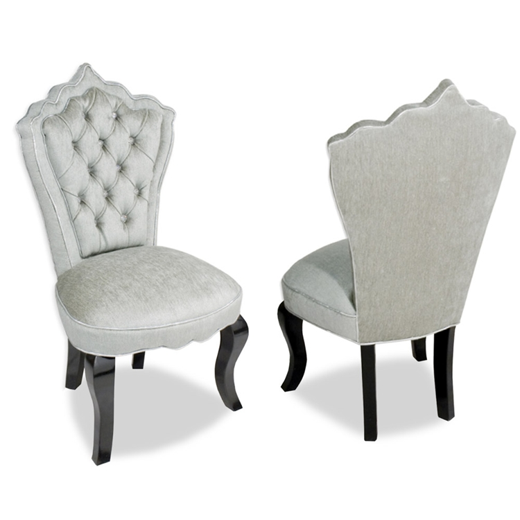 Isabella Tufted Velvet Vanity Chair